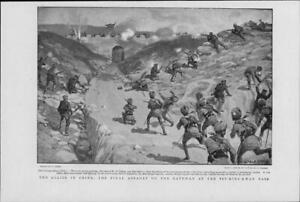 1901Antique-Print-CHINA-Tsu-King-Kwan-Allies-Final-Assault-Troops-26