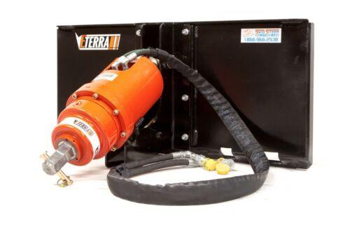 Skid Steer Auger Attachment - 3500 Model Auger for all brands of Skid Steers!
