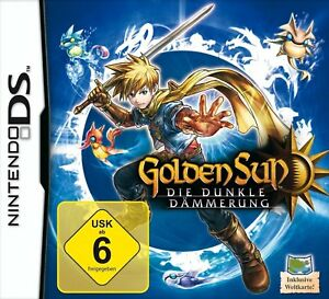 Nintendo DS Golden Sun Die Dunkle Dämmerung Role Game World Map ...