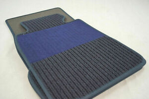 Rips ribbed car mats for Mercedes Benz W140 SEL long version RHD + BLUE + NEW