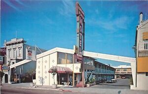 San-Francisco-California-Lombard-Plaza-Motel-Office-Telephone-Booth-1960s-Cars