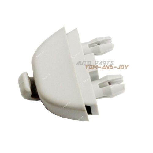 X1 New 4F0 857 561Grey Sun Visor Hook Clip  For Audi A6 C6