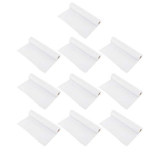 Set of 10 Roll White Drawing Paper Sketching Paper Recyclable 32.8 Feet