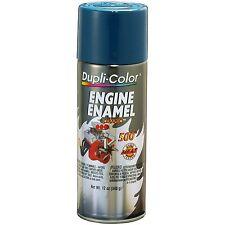Duplicolor DE1609 Chevrolet Blue Motor Engine Spray Paint Aerosol 12oz.