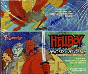 Hellboy-Animated-Sword-Of-Storms-Trading-Cards-Inkworks-FACTORY-SEALED-BOX