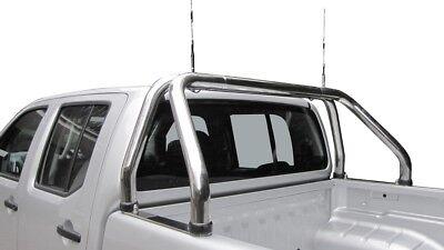 Chrom Türkantenschutz Kanten Schutz mit 3M Kleber 2 Stück Toyota Hilux 100Cm