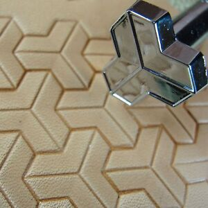 Leather-Stamping-Tool-G2284-Tri-Geometric-Stamp