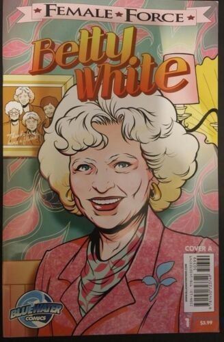 BETTY WHITE #1A VG+ FEMALE FORCE