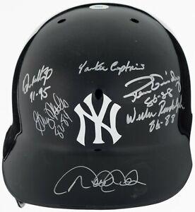 Beautiful Derek Jeter New York Yankees Captains Signed Game Helmet Steiner COA