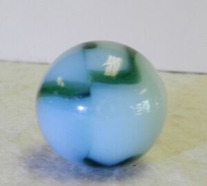 9948m Large .90 Inches Vintage Peltier Glass Shooter Marble