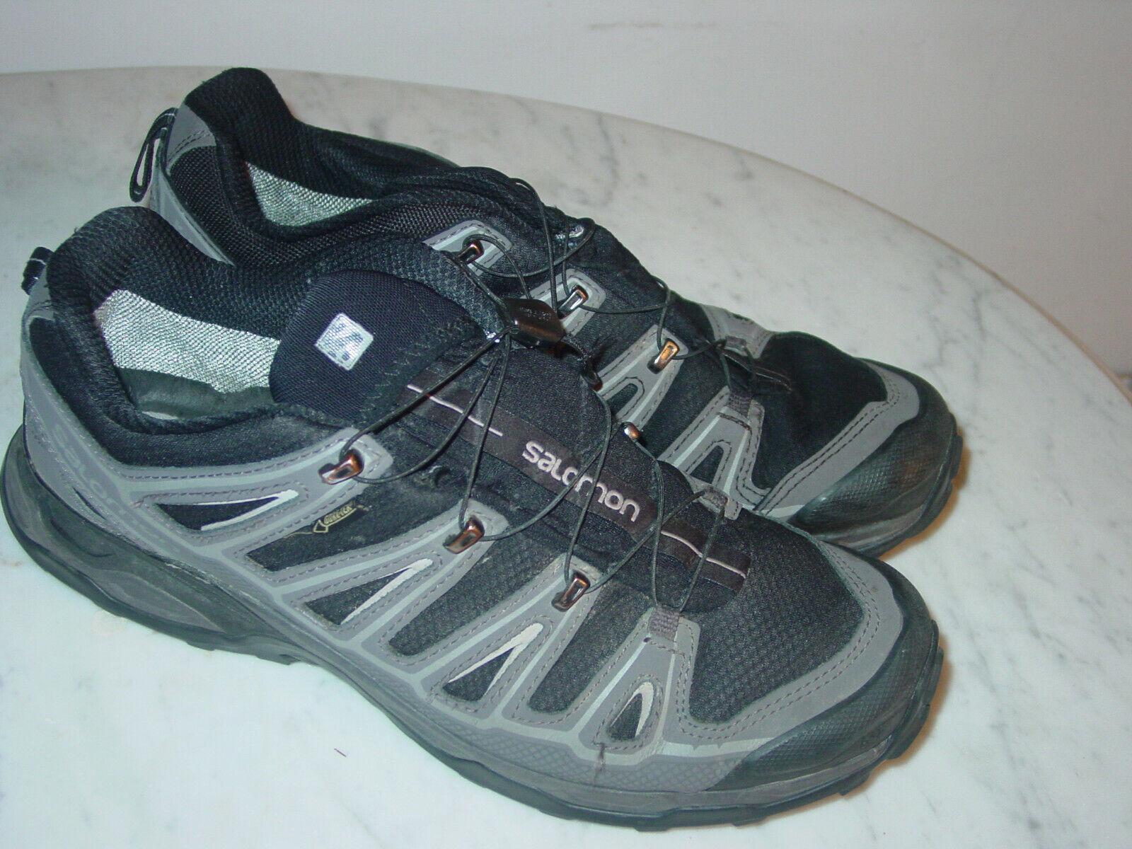 2015 Homme Salomon X Ultra 2 Goretex 371560 noir Trail Randonnée chaussures  Taille 12