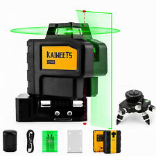 Kt360b Green Laser Level With 2 Plumb Dots Magnetic Rotating Stand Amp Tripod Base