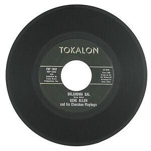 GENE-ALLEN-amp-CHEROKEE-PLAYBOYS-Oklahoma-Gal-Secret-Love-Affair-7IN-VG