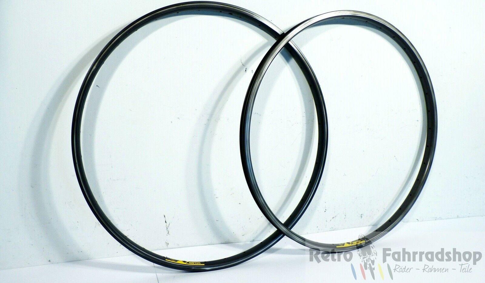 2stk. Wolber at20  MTB 36 agujeros llantas año de fabricación 1990 91 500 530 g rar top Vintage  tiempo libre