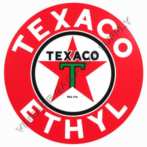 "DC178 Texaco Ethyl 12/"" Vinyl Decal"