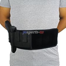 Elite Duty Ambidextrous Belly Band Holster for Concealed Carry Black