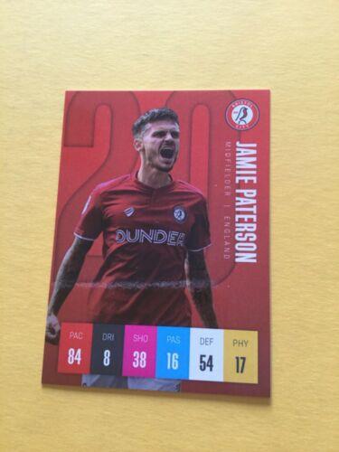Bristol City Trading Cards 2020 # 1st Edición # elegir de la lista