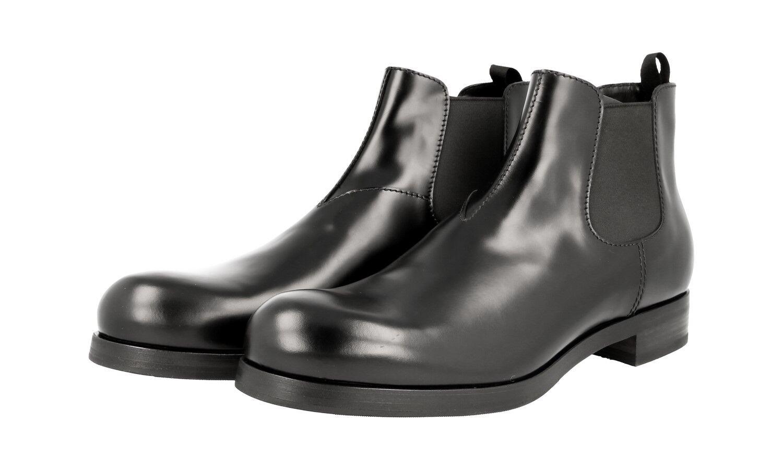 LUXUS PRADA STIEFELETTE Zapatos 2TG103 Negro 45,5 NEU NEW 11 45 45,5 Negro fac4f0