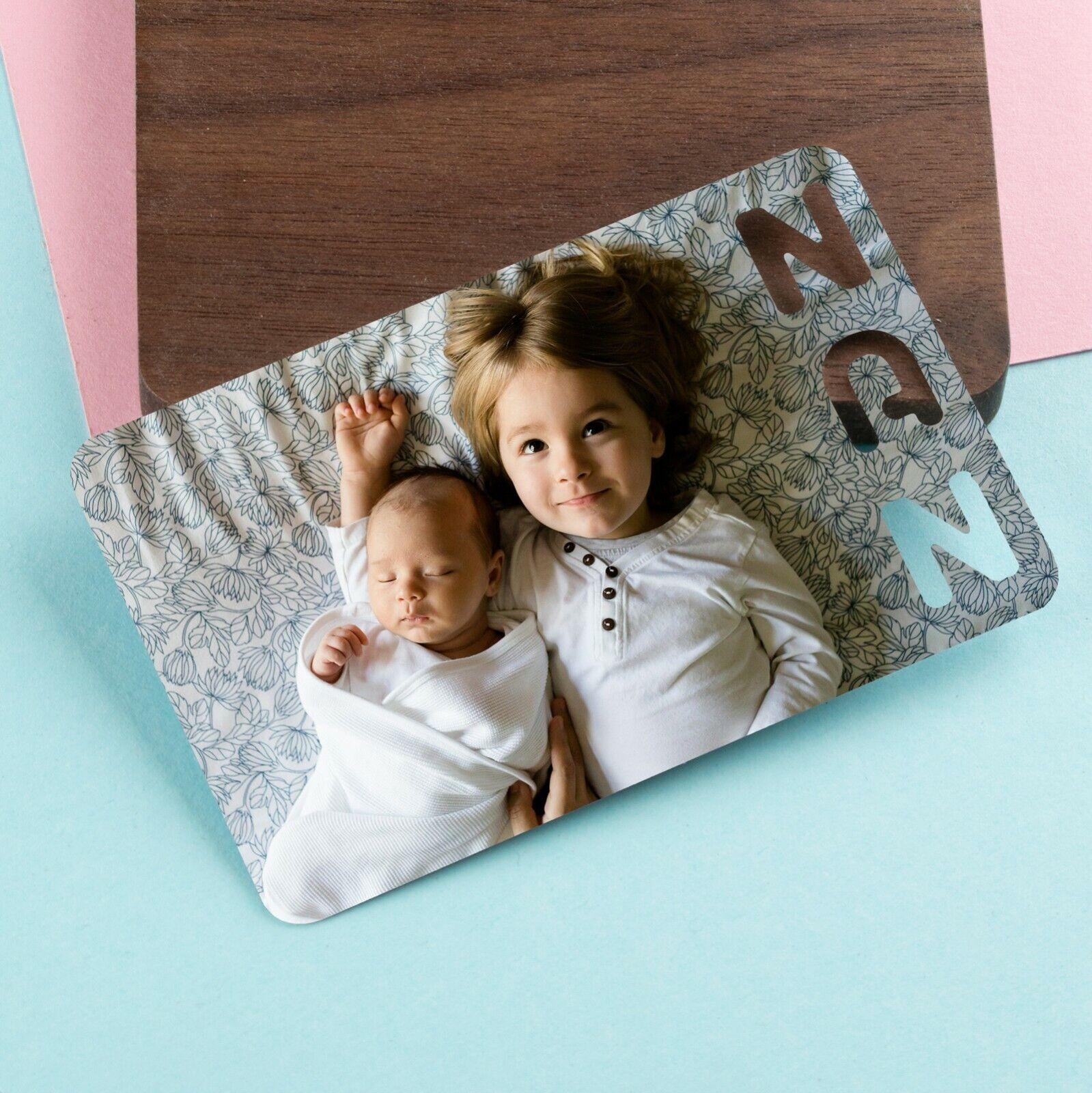 Personalised Photo Wallet Card Mothers Day Gifts for Grandma Nanny Nan Print