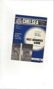 Chelsea-v-West-Bromwich-Albion-1966-67-Football-Programme