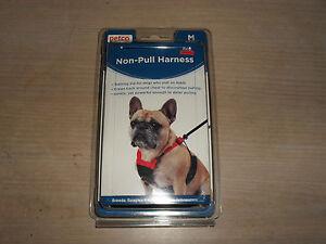 New Petco Red Non Pull Mesh Dog Harness Medium 800443119785 Ebay