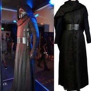 Star Wars 7 Force Awakens Kylo Ren Men/'s Uniform Halloween Cosplay Costume  Hot