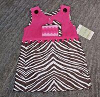 Le Za Me Baby Girls Reversable Dress - Size 18 Months -