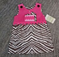 Le Za Me Baby Girls Reversable Dress - Size 18 Months -