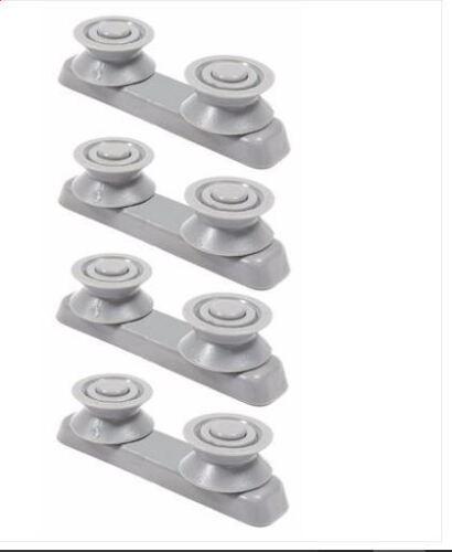 4 x Baumatic BDI631 BDW13 Dishwasher V Type Upper Basket Runner Supports