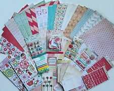 Crate Paper  [Oh Darling]  Paper Pad & Embellishments 12 x 12 (Set C) Save 65%