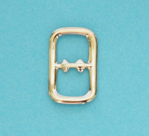 "6mm 1//4/"" Slide Tongless Buckle Nickel Nickle Plated Handbag Belt Buckles Slides"