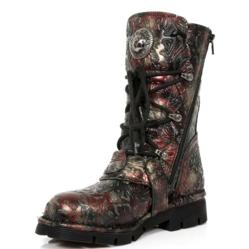 S42 Red Newrock 1473 M Boots Black Unisex Rock New Nr xIfPZwt