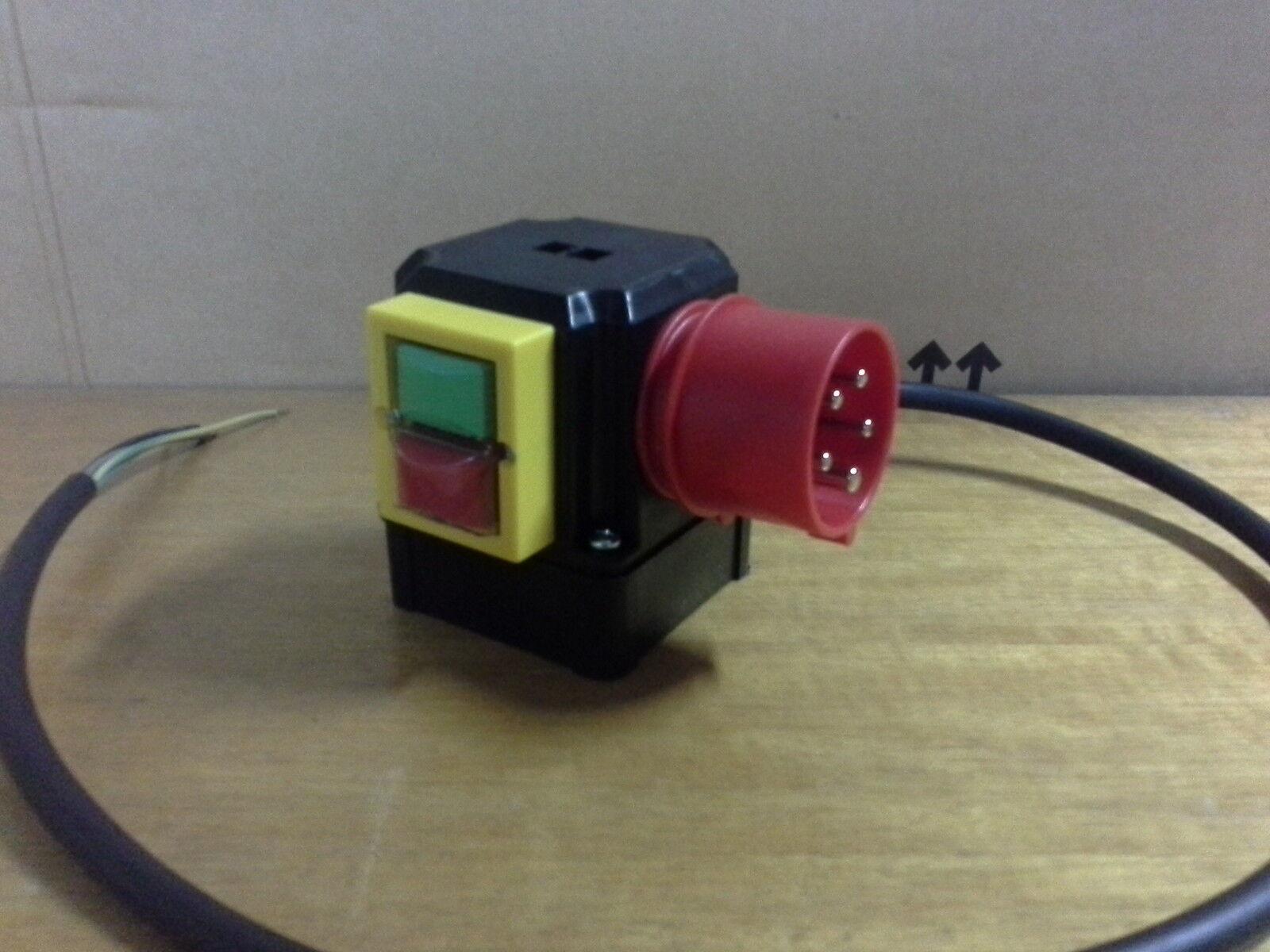 Motorschalter SSK 820/400 9,5A 4kW Elektromotor Schalter K900/ST3/KA12/P