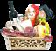 miniature 1 - Strenna di Pasqua GOLD BOX 2 - Cesto Gastronomico Pasquale salumi formaggi