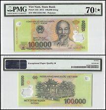 Vietnam (Viet Nam) 100,000 (100000) Dong, 2012, P-122i, UNC, Polymer, PMG 70 EPQ