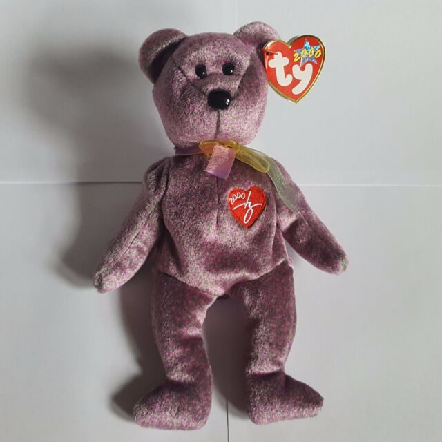 97ac38c1add TY Beanie Babies Retired 2000 Signature Bear With Tag for sale ...