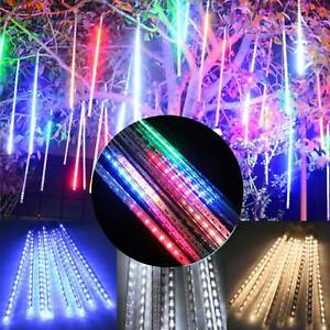 144-LED-Meteor-Shower-Falling-Rain-Drop-Icicle-Xmas-Festival-String-Fancy-Lights