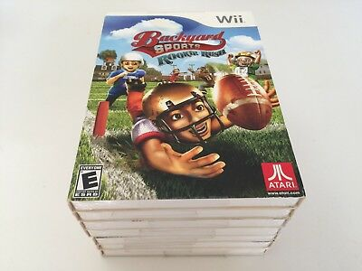 Backyard Sports: Rookie Rush (Nintendo Wii, 2010) WII NEW ...