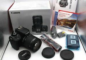 Canon-EOS-100d-EF-S-18-55-IS-STM-KIT-Fotocamera-Digitale-Nero-COME-NUOVO-amp-OVP