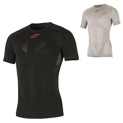 1751017 Alpinestars Da Uomo Tech Compressione Top T-shirt Livello Base Bike Ciclismo-mostra Il Titolo Originale