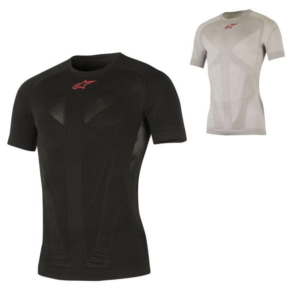 1751017 Alpinestars Da Uomo Tech Compressione Top T-shirt Livello Base Bike Ciclismo