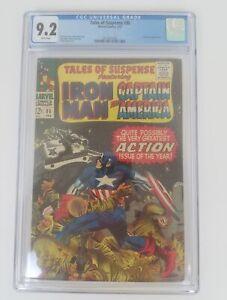 Tales-Of-Suspense-86-CGC-9-2-Iron-Man-amp-Capt-America-Mandarin-Appearance