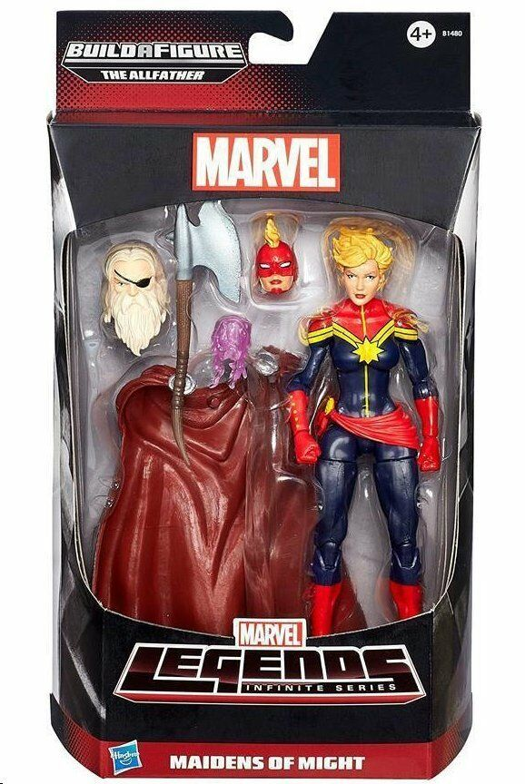 CAPTAIN MARVEL ( 6  ) MARVEL LEGENDS AVENGERS INFINITE SERIES ACTION FIGURE