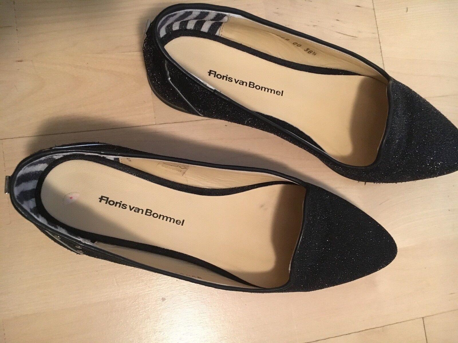Schuhe Gr.38 Floris von Bommel w.neu Blogger schwarz Billionare TK Maxx