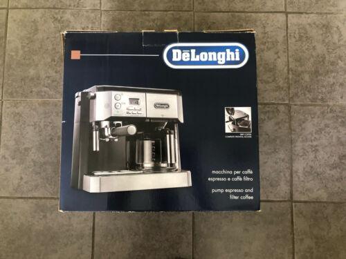DELONGHI Combi BCO431.S Filter Coffee Machine
