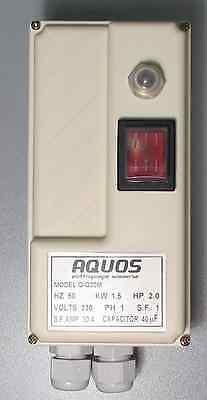 Quadro elettrico avviamento protezione pompa sommersa monofase HP 1-1,5-2