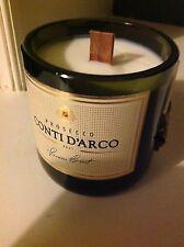 Amaretto Perfumada Vela de la soja Botella hacen