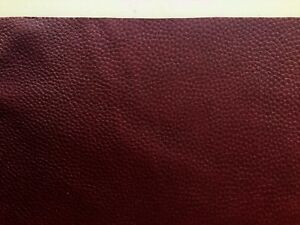 Chestnut Brown Leather Remnants Full grain 2.5mm Soft Cowhide various sizes