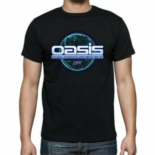 T-Shirt Ready Player One Oasis Percival Prp015 Sil
