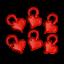 Knitting-Locking-marcadores-de-punto-marcadores-de-punto-de-ganchillo-marcadores-de-anillo-de-split miniatura 38